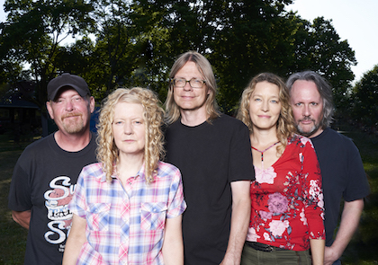 The TPOH lineup since 1996 (l-r: Dave Gilby, Kris Abbott, Moe Berg, Renee Suchy, Brad Barker.