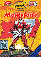 "Monteforte street poster by Bobby ""the Crunch"" Dupont"